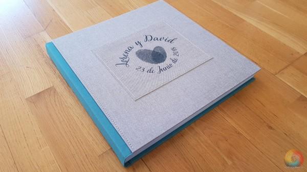 B - Álbum de Lino 35x35cm 60 Páginas
