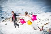 Reportaje de Boda en la Nieve