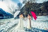 #fotografodebodas #fotosentregadaselmismodia #fotografobodaszaragoza #fotografozaragoza #nieve #postboda #boda #nophoshop #pirineo