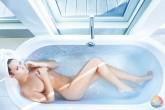 Sesión de Fotos en Hotel en una Bañera