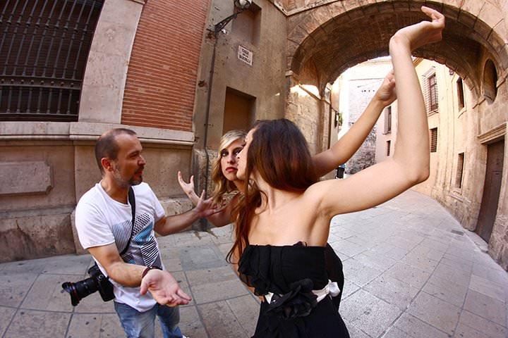 Making-off Taller de Fotografia Valencia