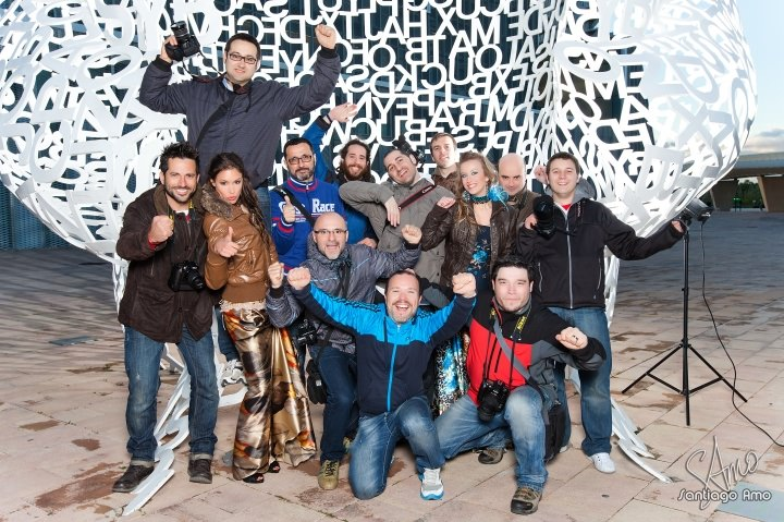 Foto de grupo taller de Zaragoza